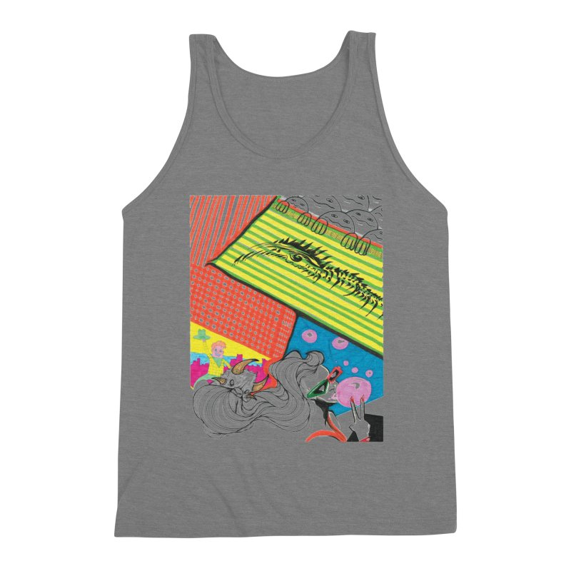 Life's a Party Men's Triblend Tank by Democratee