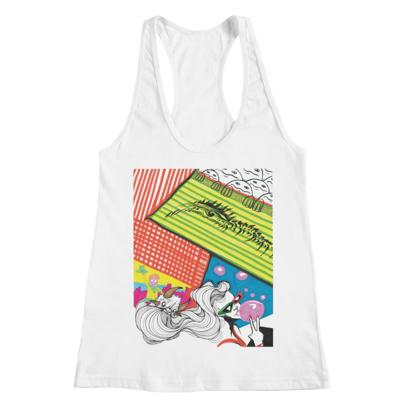 Life's a Party Women's Racerback Tank by Democratee
