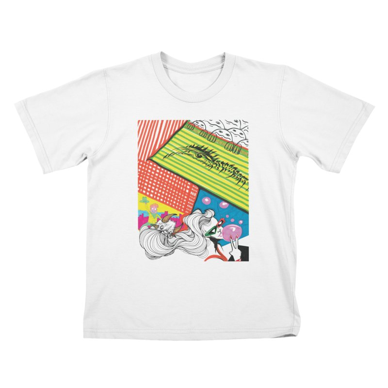 Life's a Party Kids T-Shirt by Democratee