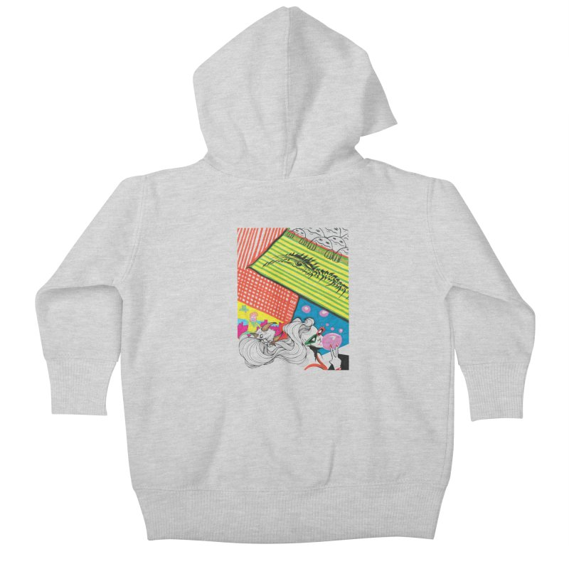 Life's a Party Kids Baby Zip-Up Hoody by Democratee