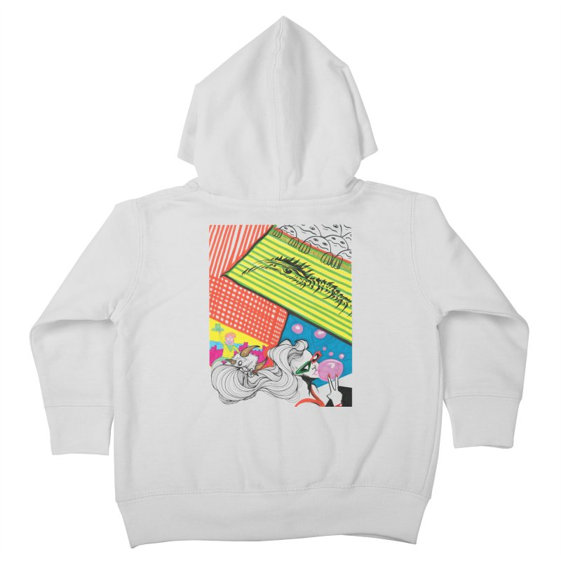 Life's a Party Kids Toddler Zip-Up Hoody by Democratee