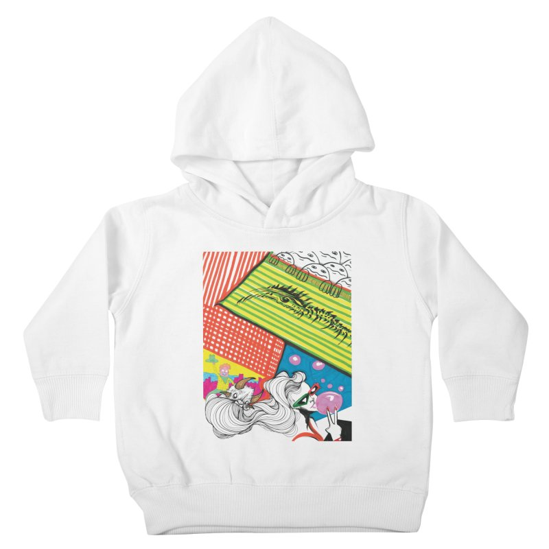 Life's a Party Kids Toddler Pullover Hoody by Democratee