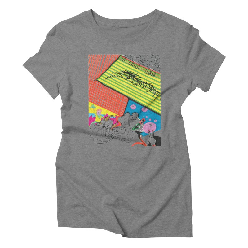 Life's a Party Women's Triblend T-Shirt by Democratee