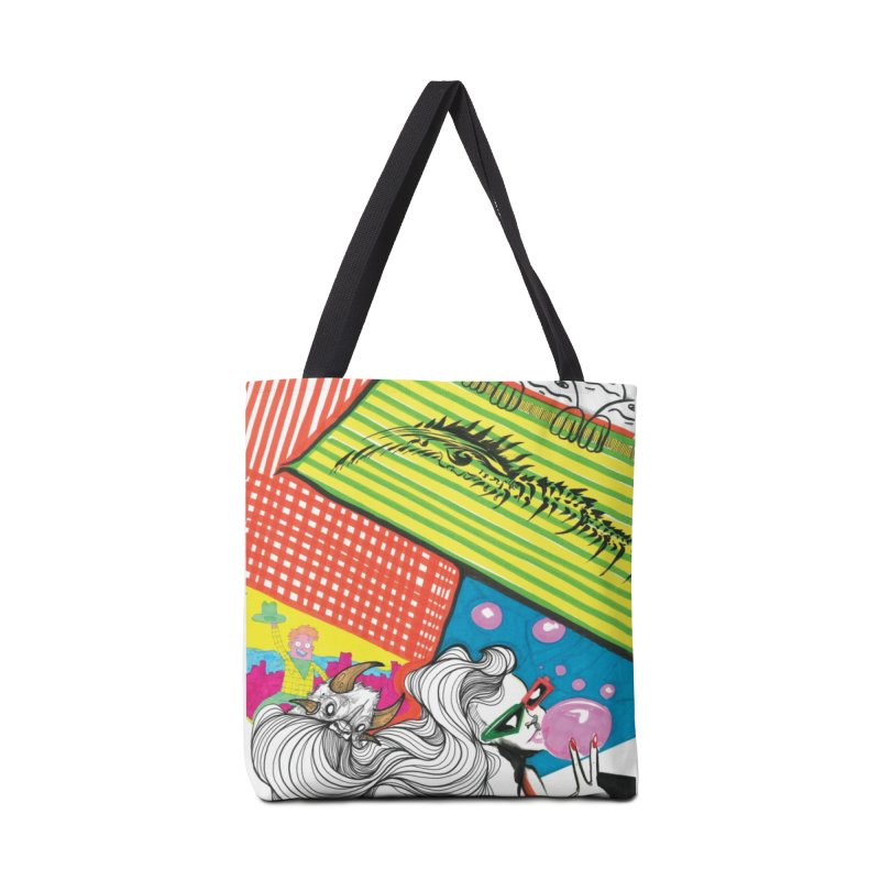 Life's a Party Accessories Tote Bag Bag by Democratee