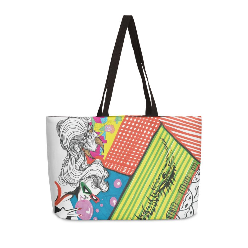 Life's a Party Accessories Weekender Bag Bag by Democratee