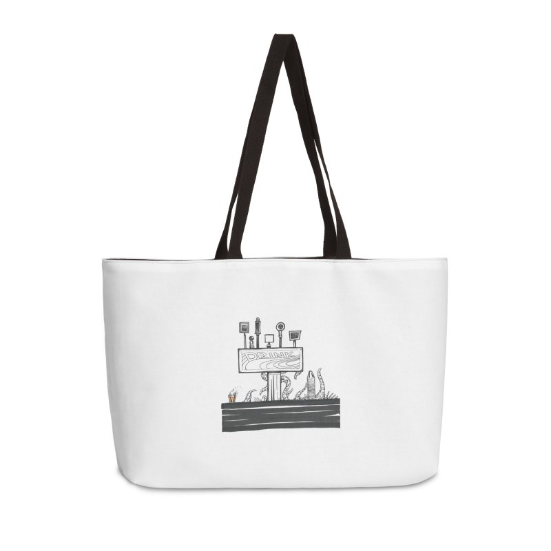 Don't Worry, Be Hoppy Accessories Weekender Bag Bag by Democratee