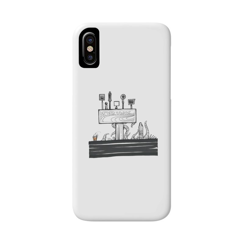 Don't Worry, Be Hoppy Accessories Phone Case by Democratee