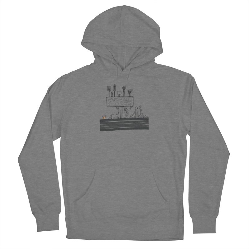 Don't Worry, Be Hoppy Women's French Terry Pullover Hoody by Democratee