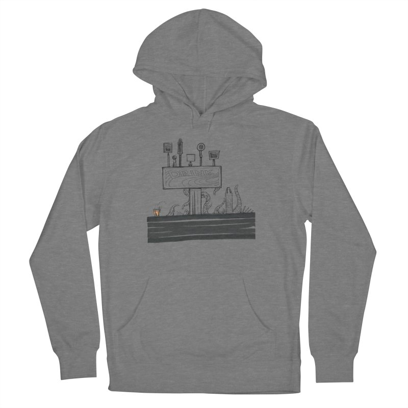 Don't Worry, Be Hoppy Women's Pullover Hoody by Democratee