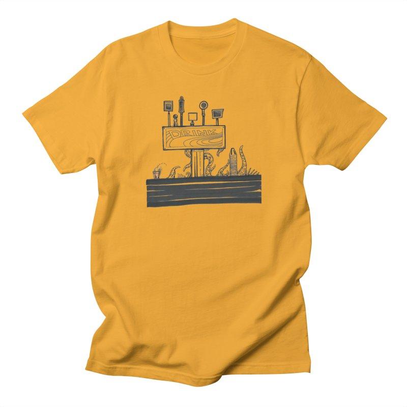 Don't Worry, Be Hoppy Women's Regular Unisex T-Shirt by Democratee
