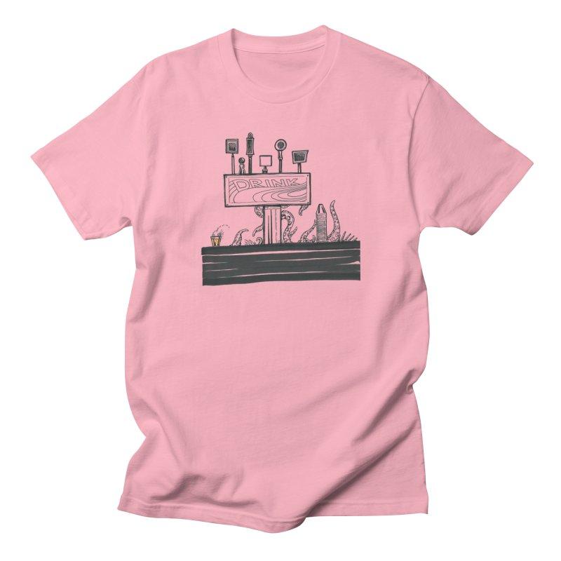 Don't Worry, Be Hoppy Men's Regular T-Shirt by Democratee