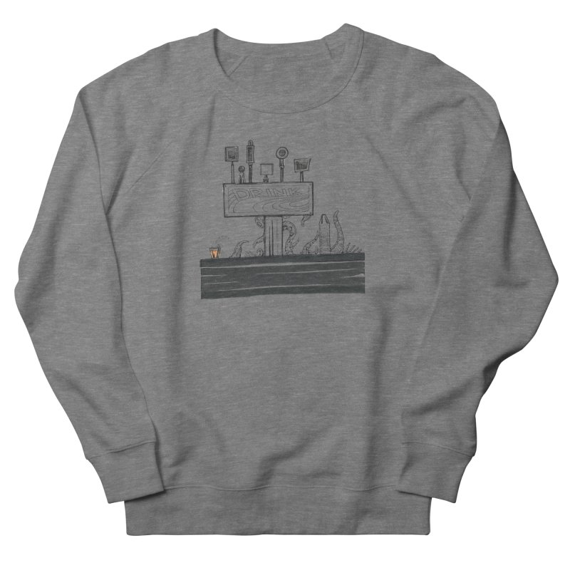 Don't Worry, Be Hoppy Men's French Terry Sweatshirt by Democratee