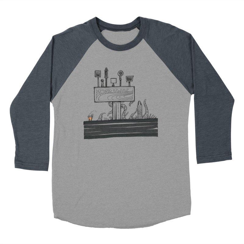 Don't Worry, Be Hoppy Men's Baseball Triblend Longsleeve T-Shirt by Democratee
