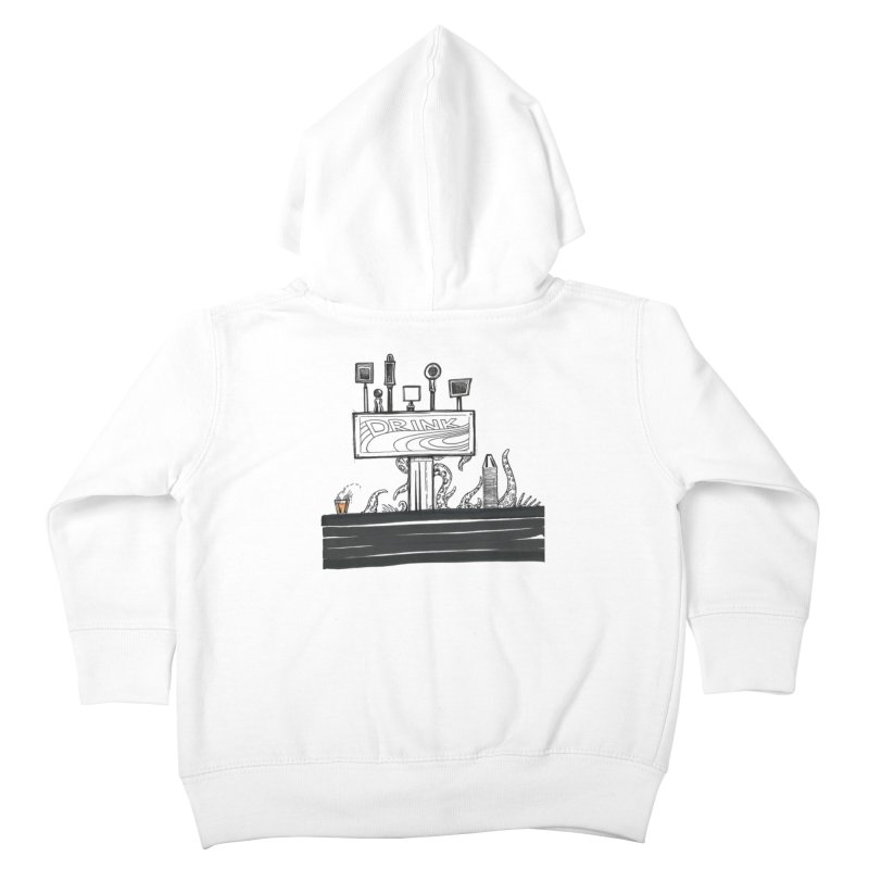 Don't Worry, Be Hoppy Kids Toddler Zip-Up Hoody by Democratee