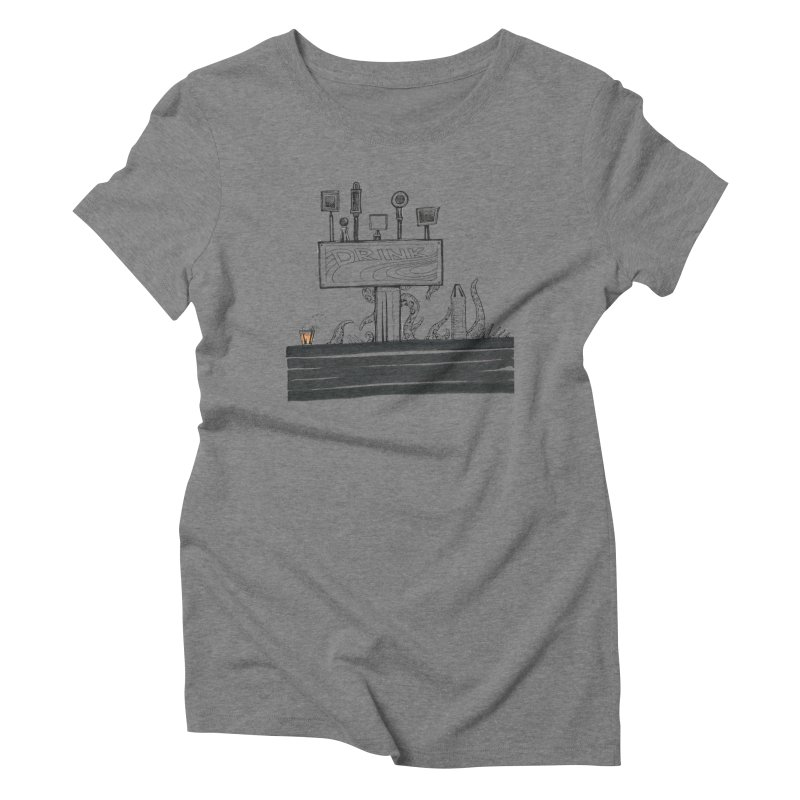 Don't Worry, Be Hoppy Women's Triblend T-Shirt by Democratee