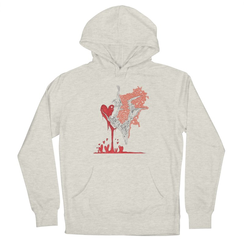 Lovesick Women's French Terry Pullover Hoody by Democratee