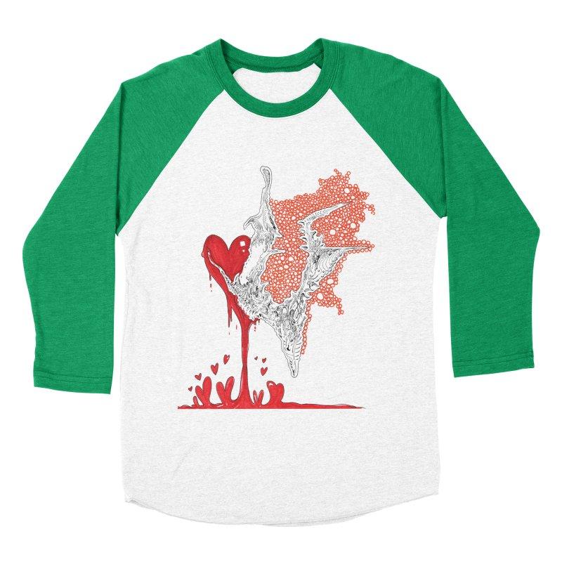 Lovesick Men's Baseball Triblend Longsleeve T-Shirt by Democratee