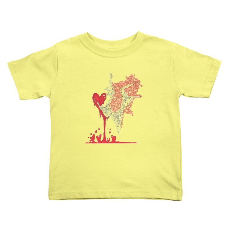 Lovesick Kids Toddler T-Shirt by Democratee