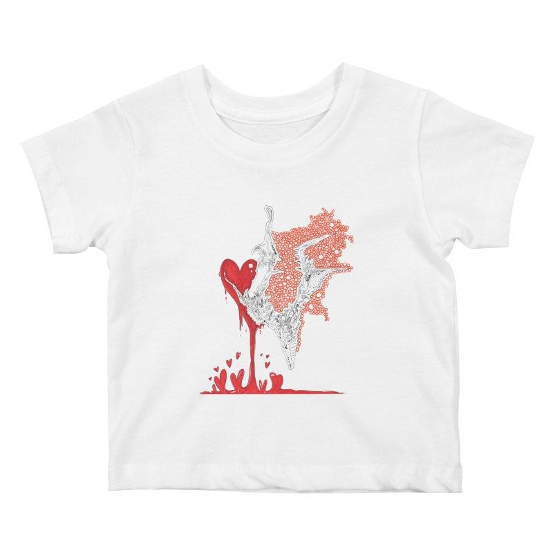 Lovesick Kids Baby T-Shirt by Democratee