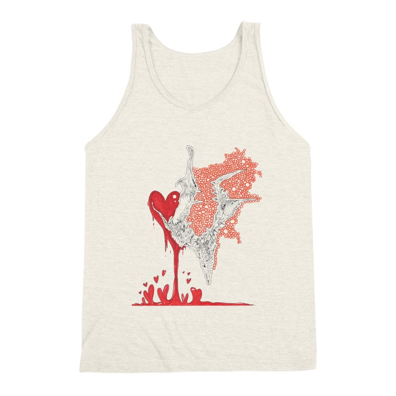 Lovesick Men's Triblend Tank by Democratee