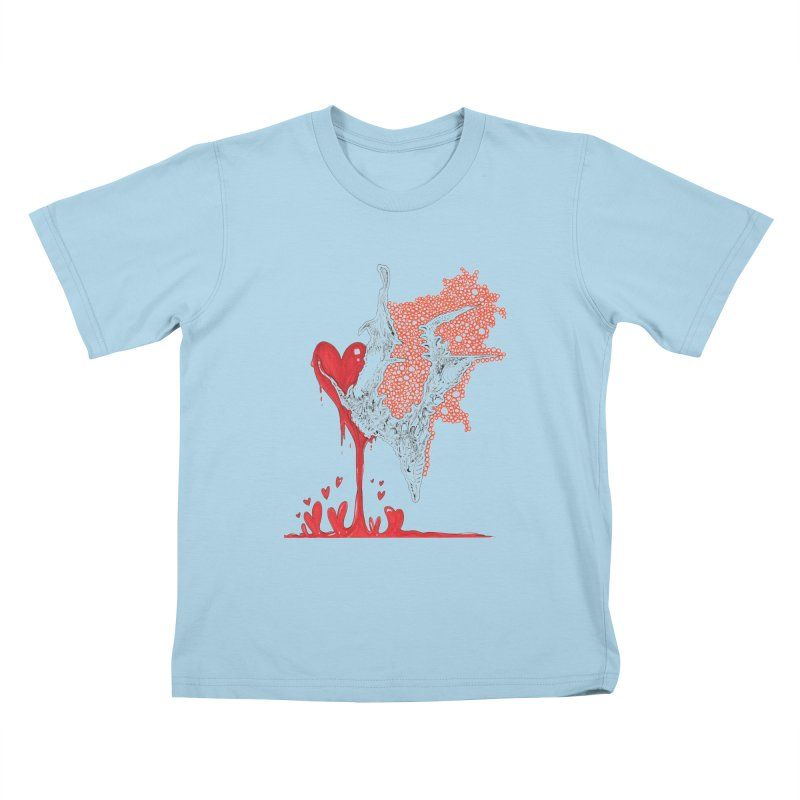 Lovesick Kids T-Shirt by Democratee