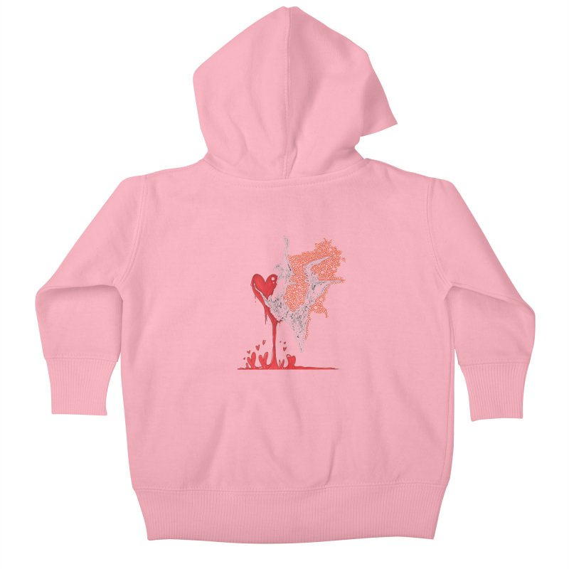 Lovesick Kids Baby Zip-Up Hoody by Democratee