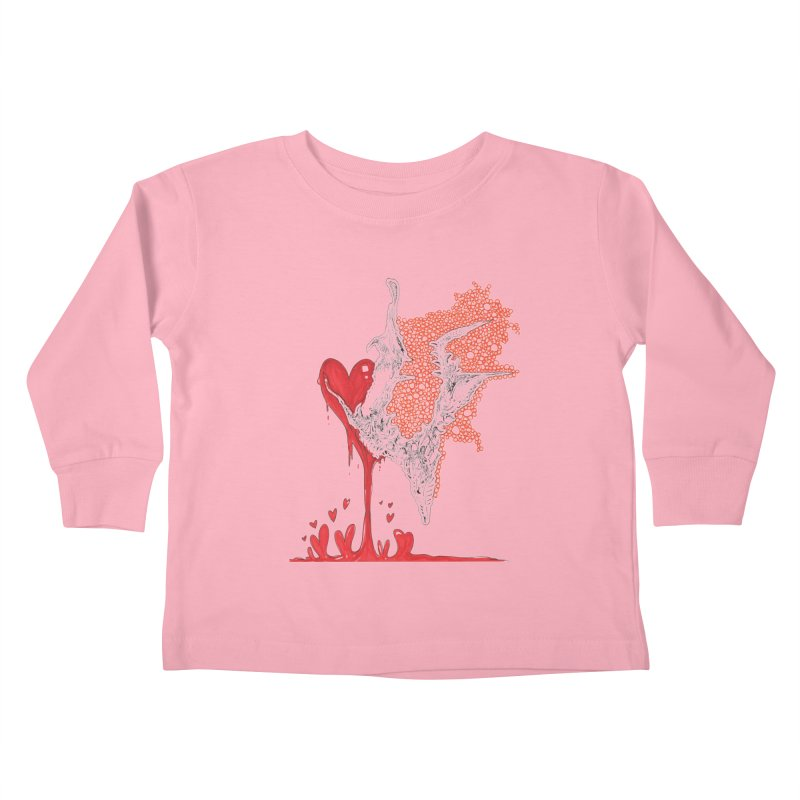 Lovesick Kids Toddler Longsleeve T-Shirt by Democratee