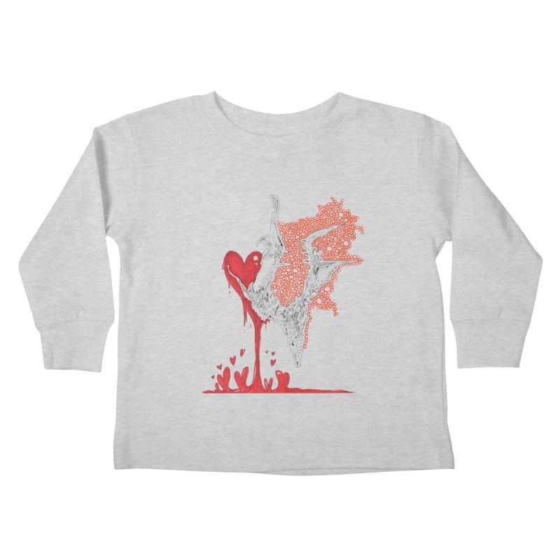 Lovesick Kids Toddler Longsleeve T-Shirt by Democratee
