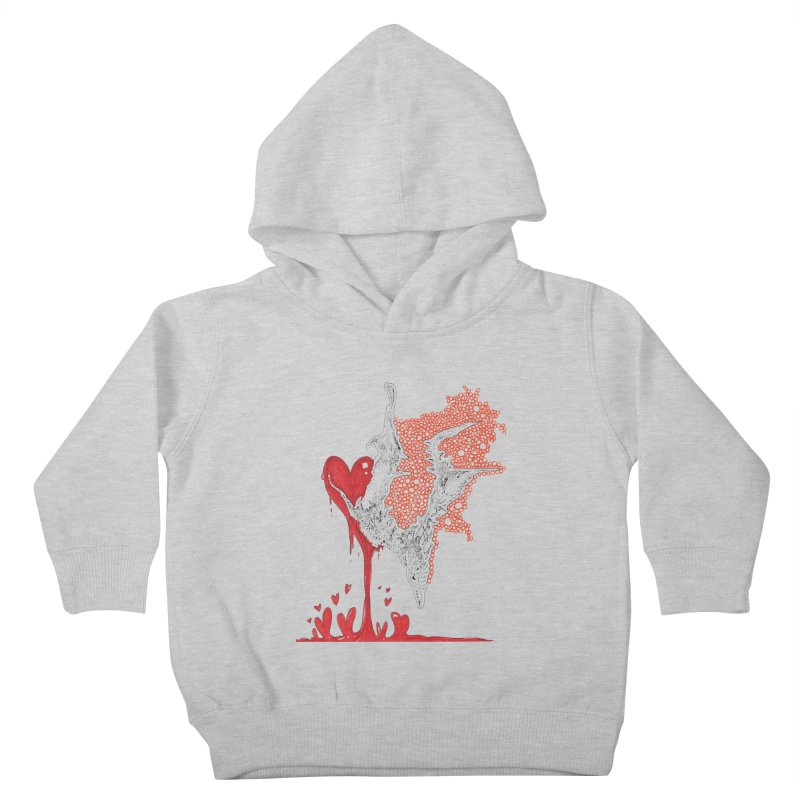 Lovesick Kids Toddler Pullover Hoody by Democratee