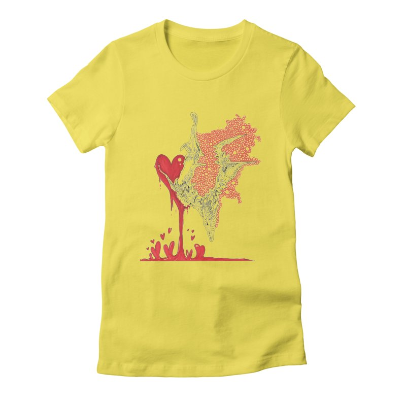 Lovesick Women's Fitted T-Shirt by Democratee