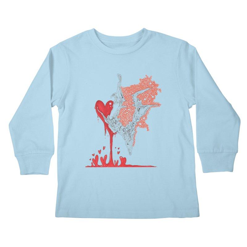 Lovesick Kids Longsleeve T-Shirt by Democratee