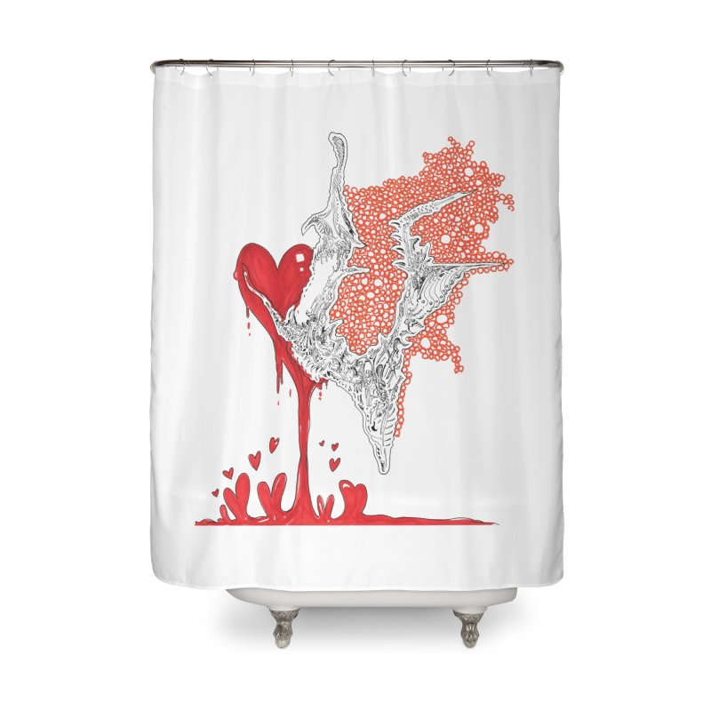 Lovesick Home Shower Curtain by Democratee