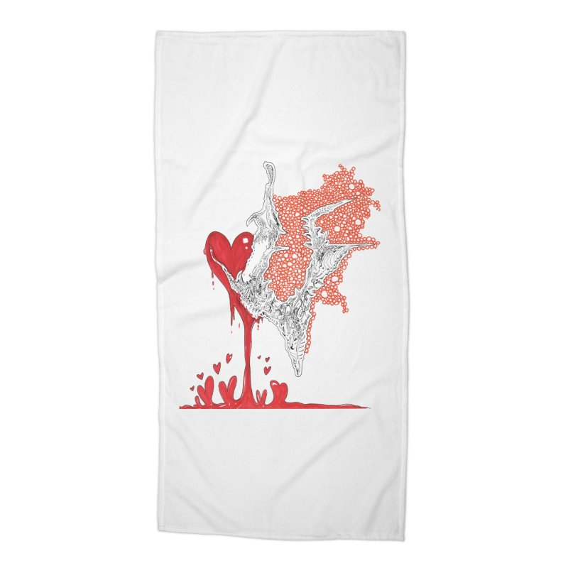 Lovesick Accessories Beach Towel by Democratee