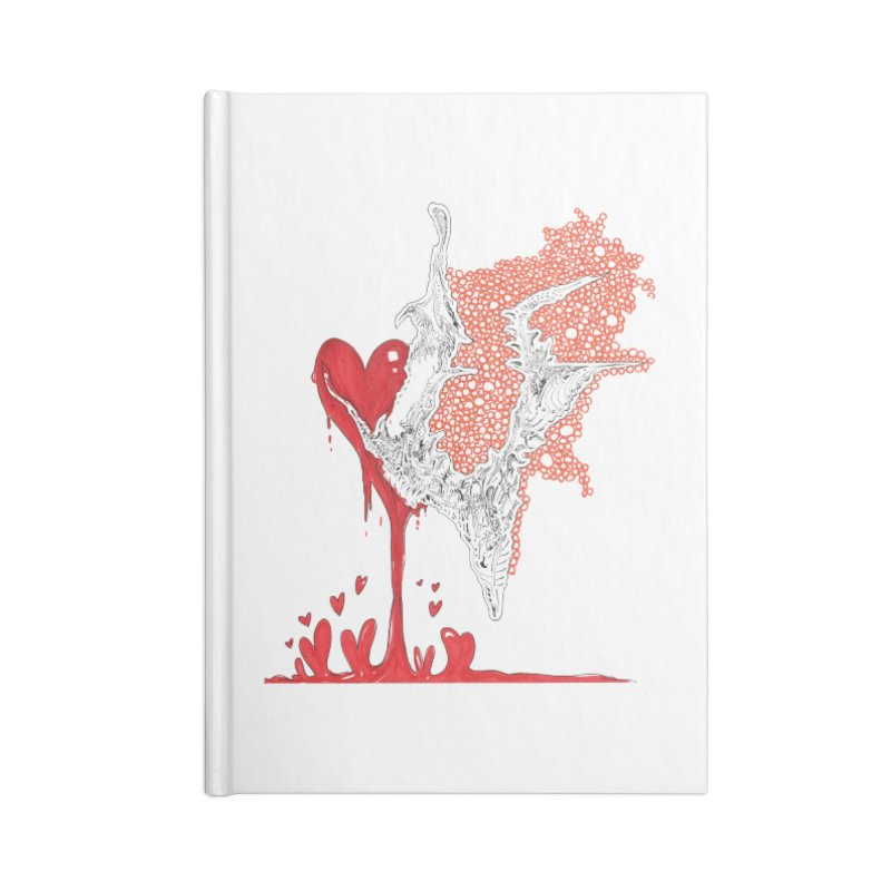 Lovesick Accessories Blank Journal Notebook by Democratee