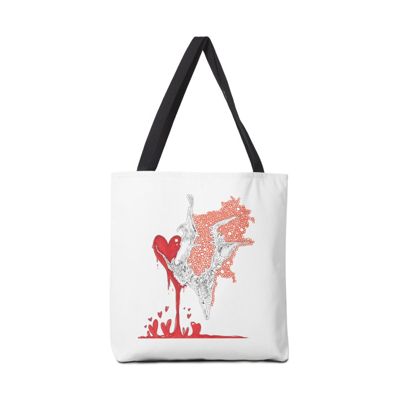 Lovesick Accessories Tote Bag Bag by Democratee