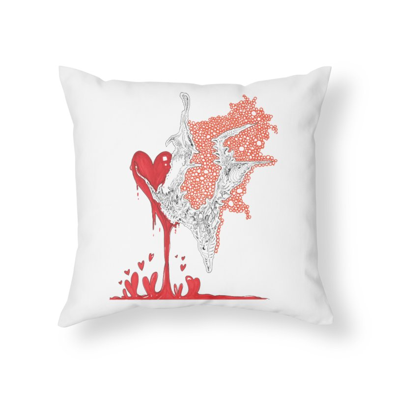 Lovesick Home Throw Pillow by Democratee