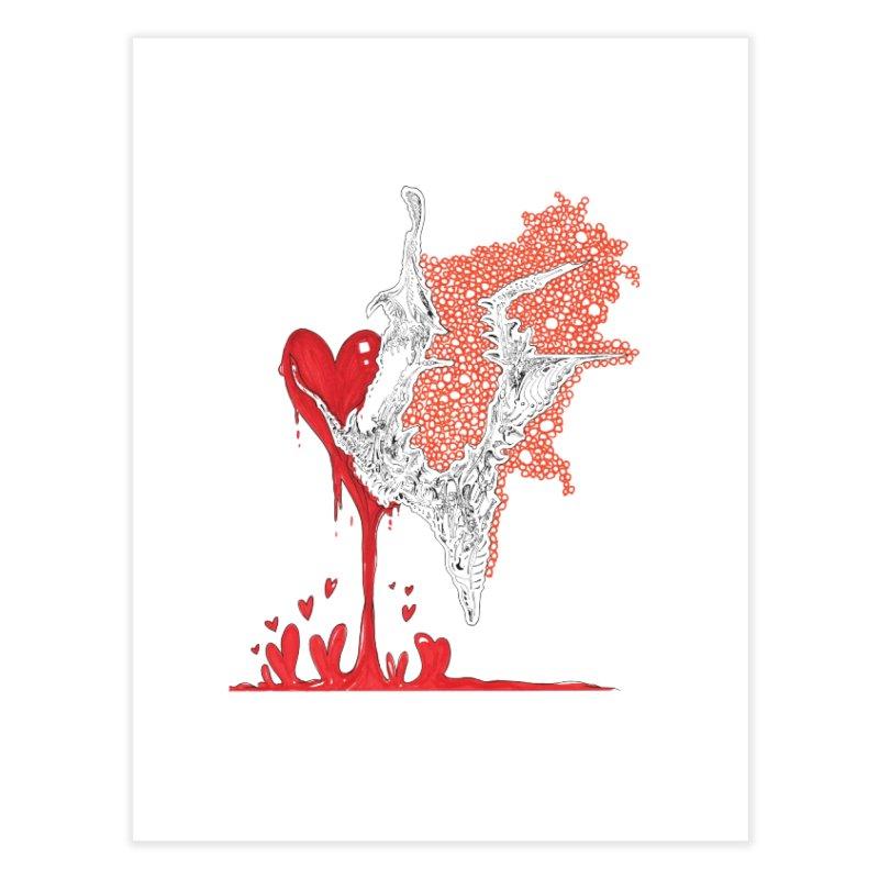 Lovesick Home Fine Art Print by Democratee