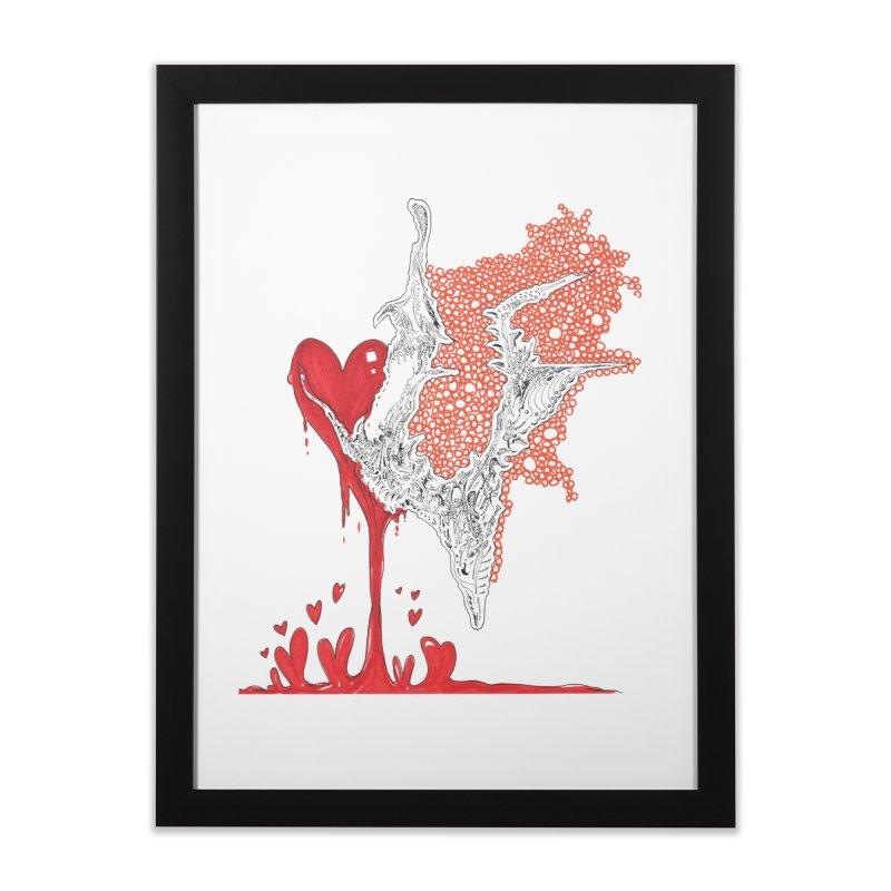 Lovesick Home Framed Fine Art Print by Democratee