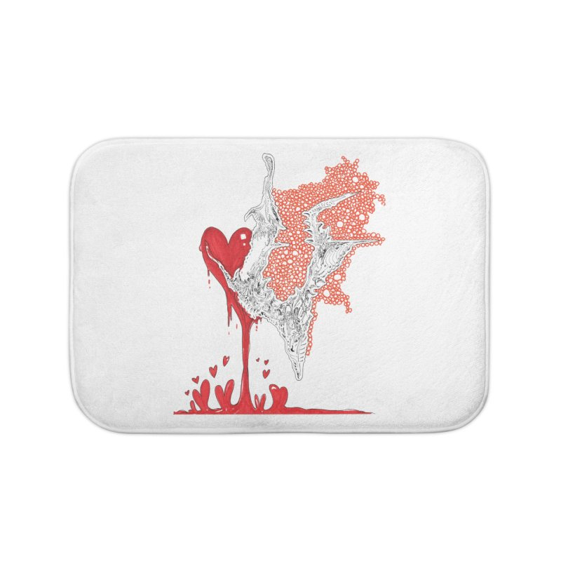 Lovesick Home Bath Mat by Democratee