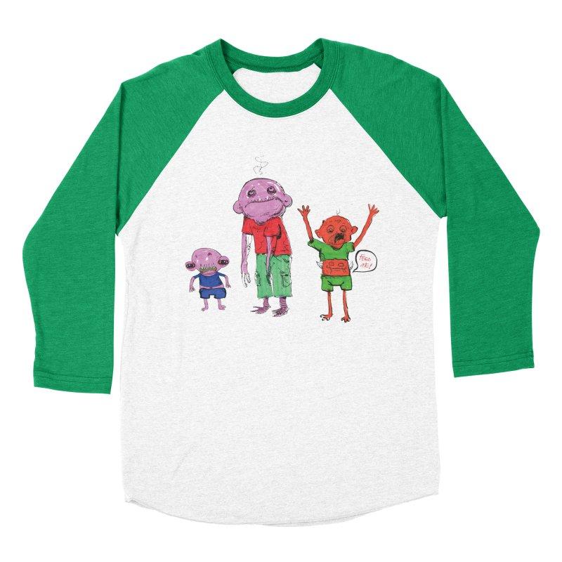 Team Always Hangry Men's Baseball Triblend Longsleeve T-Shirt by Democratee