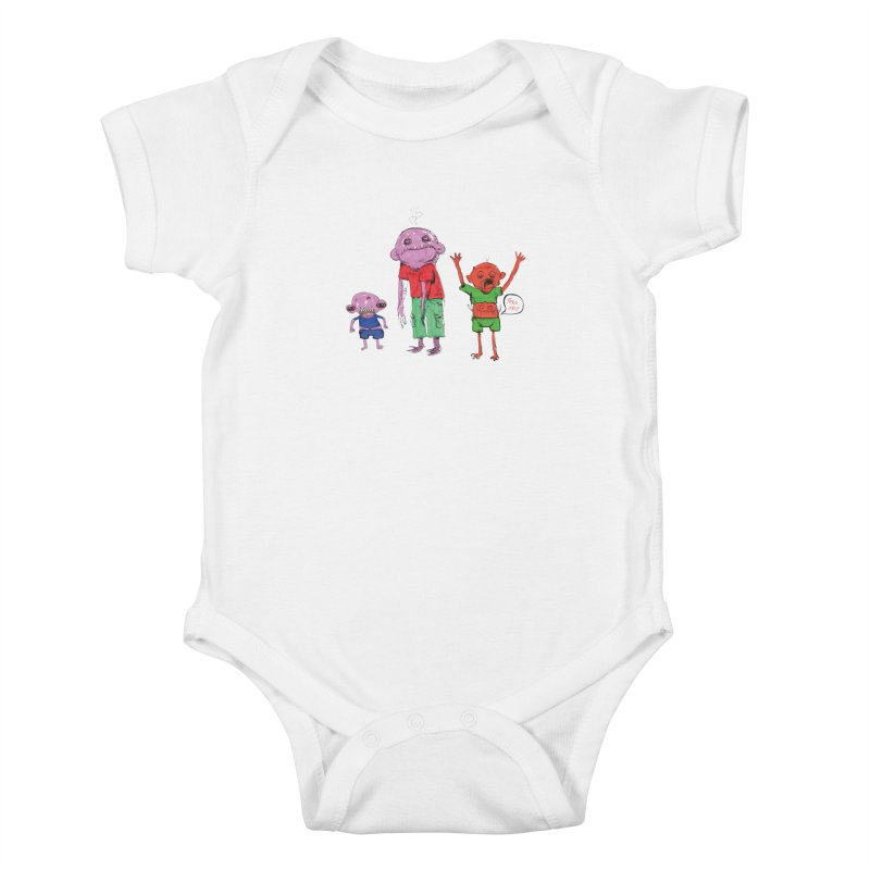 Team Always Hangry Kids Baby Bodysuit by Democratee
