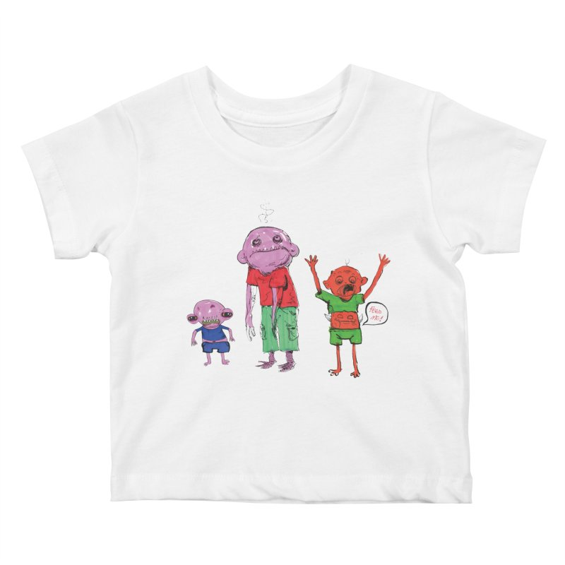 Team Always Hangry Kids Baby T-Shirt by Democratee