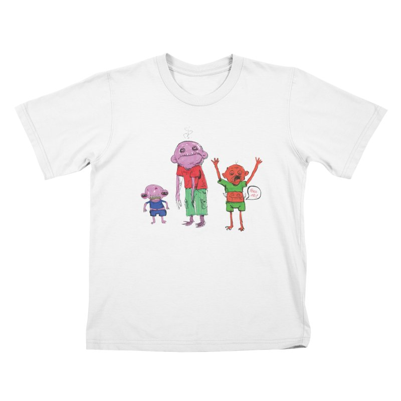 Team Always Hangry Kids T-Shirt by Democratee