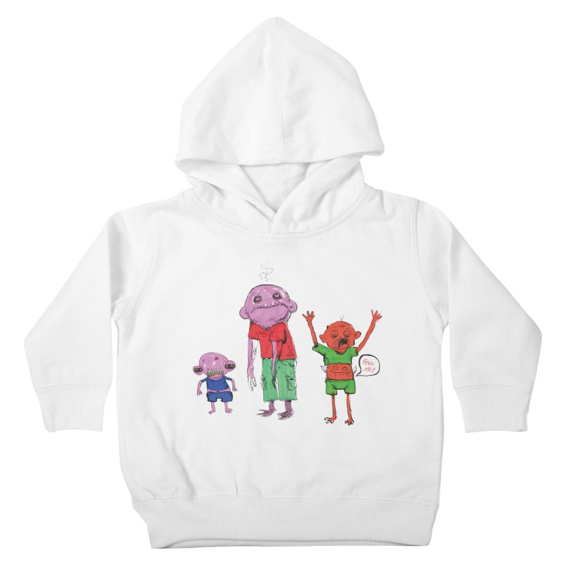 Team Always Hangry Kids Toddler Pullover Hoody by Democratee