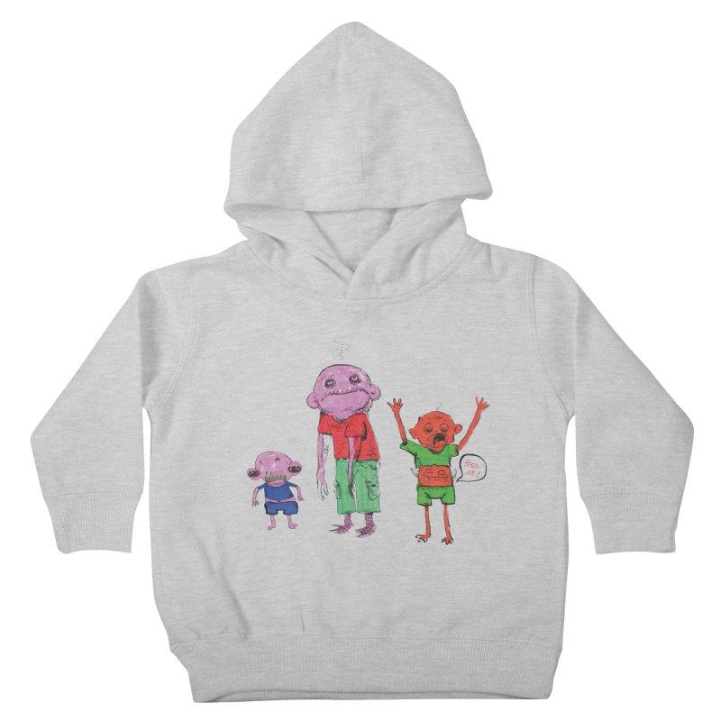 Team Always Hangry Kids Toddler Pullover Hoody by Democratee