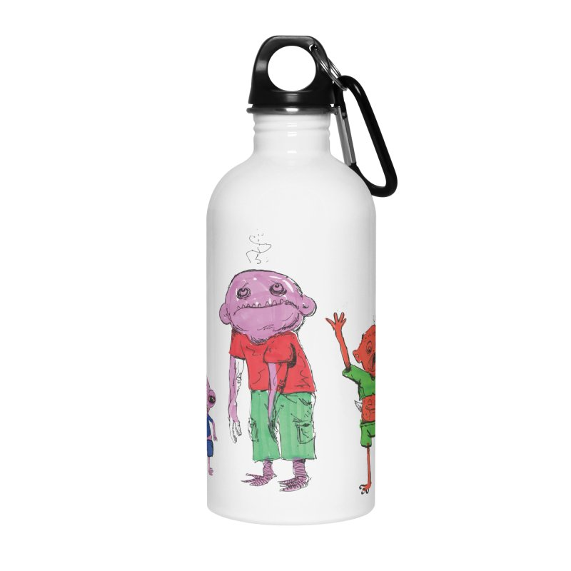 Team Always Hangry Accessories Water Bottle by Democratee