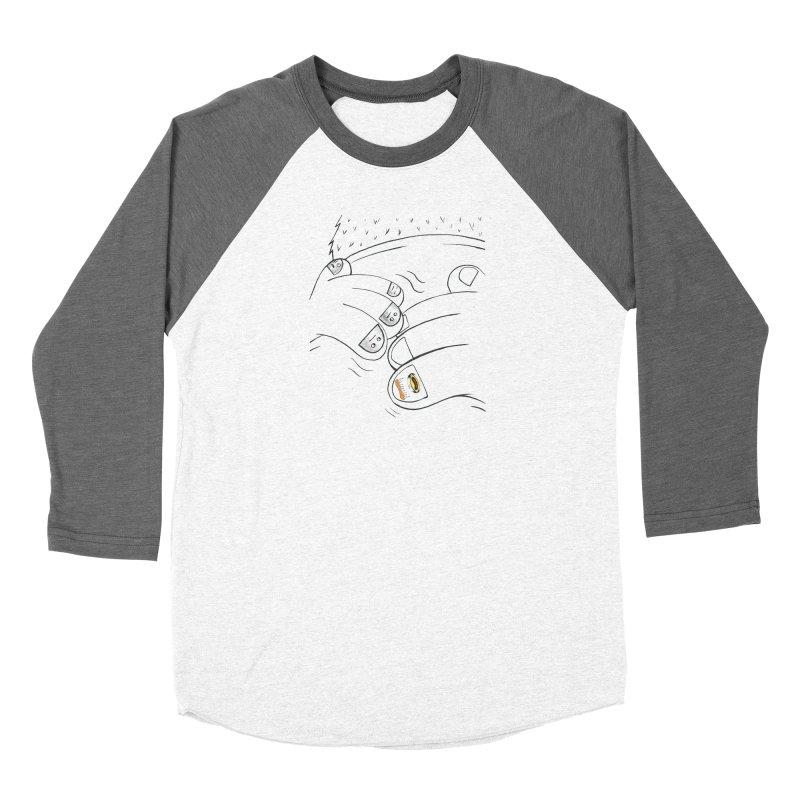 Embrace Your Weird Men's Baseball Triblend Longsleeve T-Shirt by Democratee