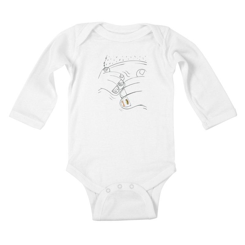 Embrace Your Weird Kids Baby Longsleeve Bodysuit by Democratee