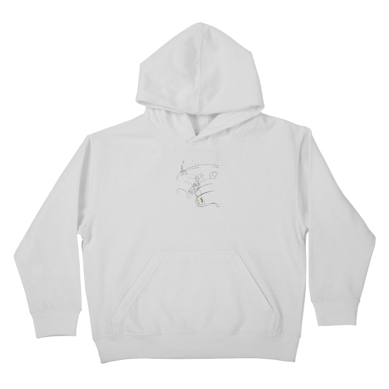Embrace Your Weird Kids Pullover Hoody by Democratee