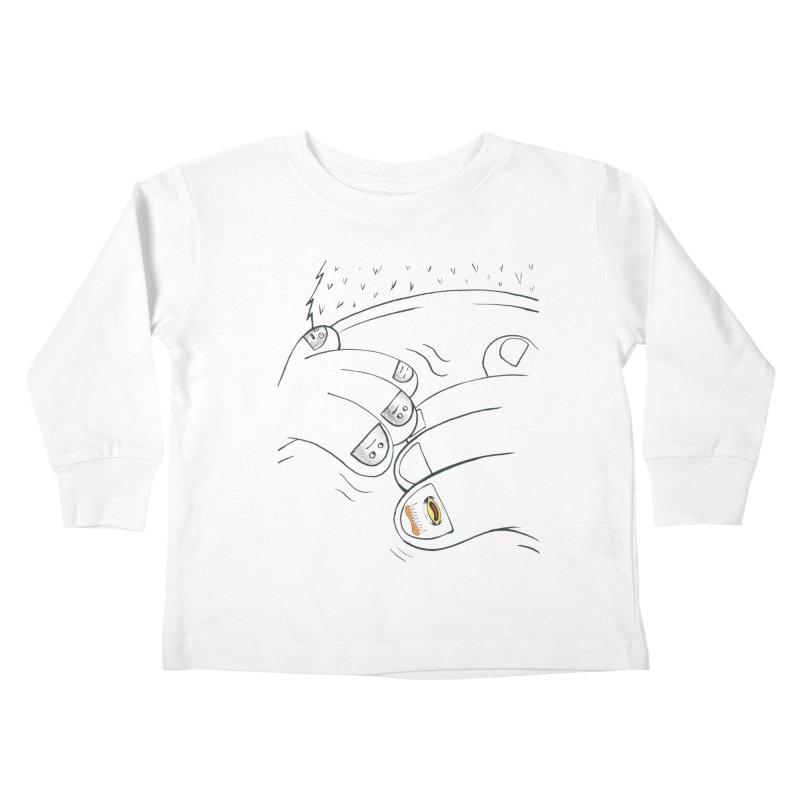 Embrace Your Weird Kids Toddler Longsleeve T-Shirt by Democratee